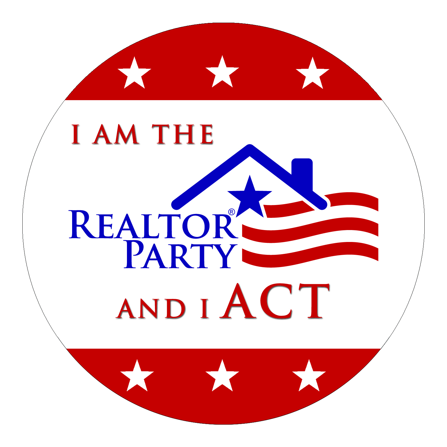 realtor party button